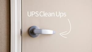 ups clean ups